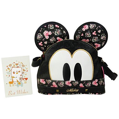Disney Mickey Bouquet Bolso de Mano Bolera por Mujer Bandolera Bolso al Hombro