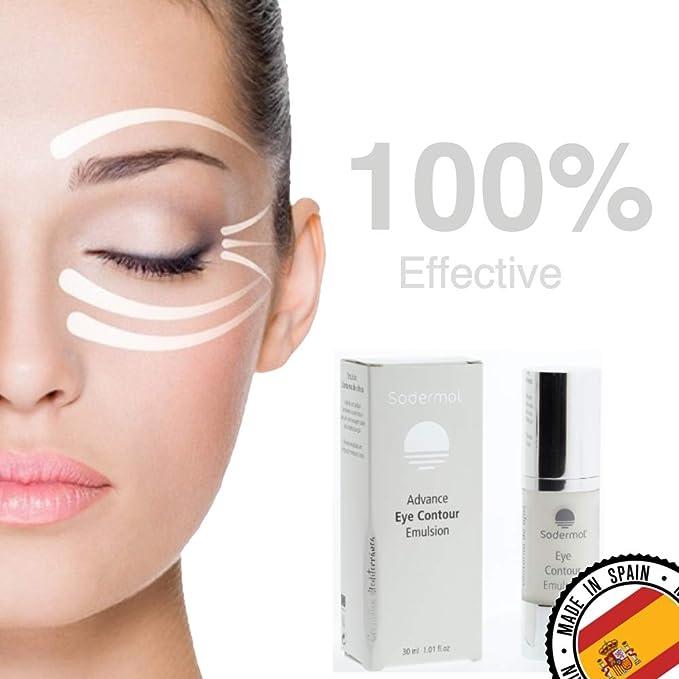 Contorno de ojos antiarrugas Antiedad Facial Hombre y Mujer efecto anti-fatiga corrector ojeras anti bolsas con vitamina C crema hidratante facial ...