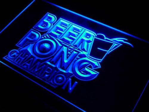 Pong Champion Bar Game Neon Light Sign ()