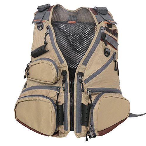 (M MAXIMUMCATCH Maxcatch Fly Fishing Vest Pack (Fishing Vest/Fishing Sling Pack/Fishing Backpack) (Fly Vest Wildcreek New-Tech))