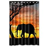 Small Bathroom Flooring Ideas Super Specials Elephant Waterproof Bathroom Bath Polyester Shower Curtain 48