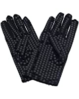 Yanseller 1 Pair Child Michael Jackson Costume Dress up Dance Sequin Gloves