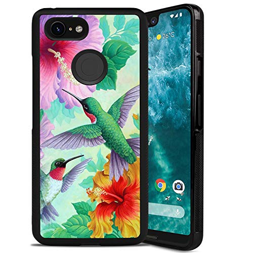 Google Pixel 3 XL Phone Case, Hummingbird Anti-Scratch Shock Proof PC and TPU Case for Google Pixel 3 XL