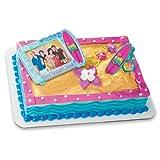 Decopac Teen Beach Movie Surfboard Clip DecoSet Cake Topper