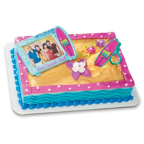 Teen Beach Movie Toys : Decopac teen beach movie surfboard clip decoset cake