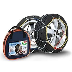 Compass Chaînes à Neige pour pneus 175/65 R14 Certifié TÜV (x50) 1 Paire