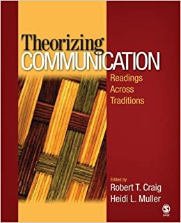 Book Theorizing Communication: Readings Across Traditions by Craig, Robert T., Muller, Heidi L.(April 5, 2007)