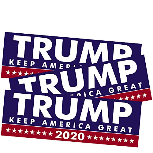 SBB 3pcs President Donald Trump Keep America Great 2020 Election Patriotic Bumper Sticker 9