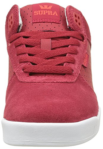 Supra ELLINGTON - zapatilla deportiva de cuero hombre Rojo - Rot (RED / GREY - WHITE 621)
