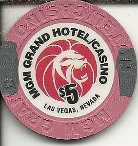 Amazon Com 5 Mgm Grand Las Vegas Casino Chip Poker