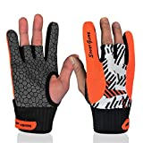 Trenton Professional Silicone Anti-Skid Comfortable Fashion Bowling Gloves for Men Women
