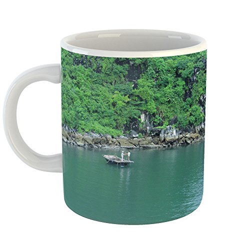 Westlake Art - Bay Water - 11oz Coffee Cup Mug - Modern Picture Photography Artwork Home Office Birthday Gift - 11 Ounce (90F5-7A5DA) - Finest Reserve Port