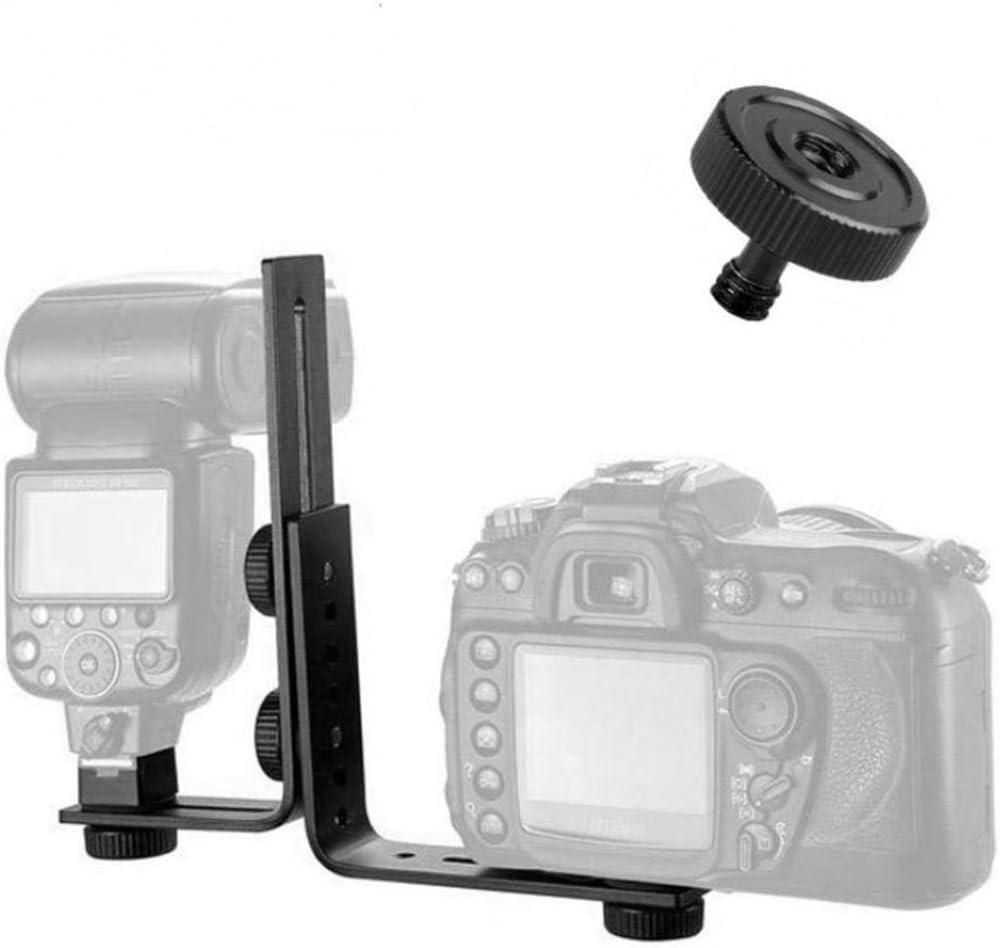 aXXcssqw9b1//4 Inch Male to Female Screw Adapter for Camera Tripod Bracket Flash Stand