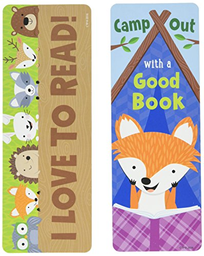 Creative Teaching Press Woodland Friends Camp Out with a Good Bookmark (0832)