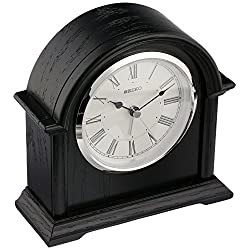 Seiko QXE050KLH Desk/Table Japanese Quartz Shelf Clock