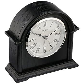 Seiko QXE050KLH Desk/Table Japanese Quartz Shelf Clock