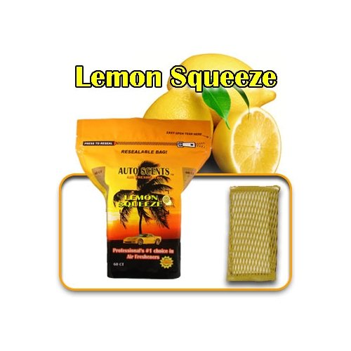 AS103 Lemon Squeeze Auto Scents Air Fresheners