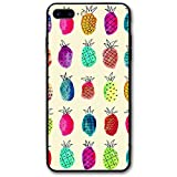 IPhone 8 Plus/iPhone 7 Plus Case TUOLJIV The Colorful Pineapples Personalized Customization Phone Case - IPhone 7 Plus And IPhone 8 Plus (Black)