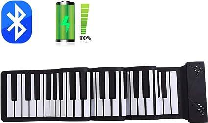 TIM-LI Piano Electrónico Portátil para Principiantes: Teclado ...