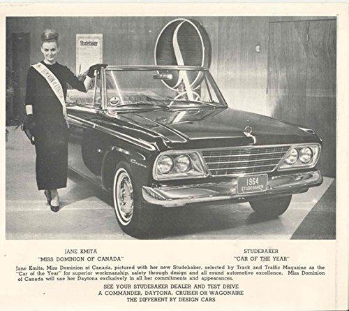 1964 Studebaker Convertible Miss Dominion Photo Canada