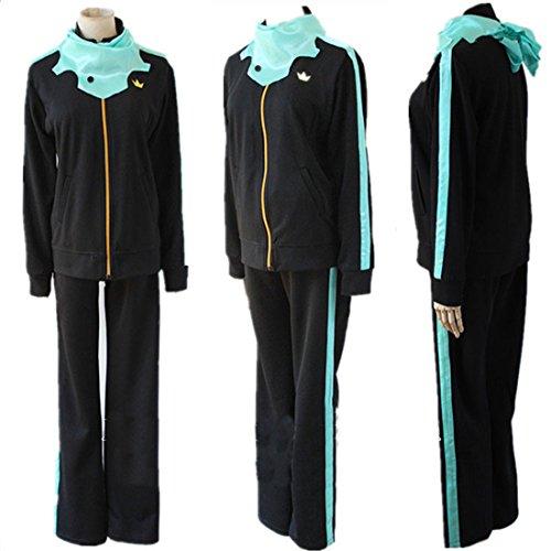 [LAYOUT Cosplay Costumes Noragami Yato Sportswear (L)] (Yato Cosplay Costume)