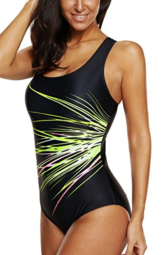 racing bathing suits women athletic one piece swimsuits chlorine proof competitive swimwear - Chlorine Proof Swimwear