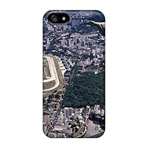 Awesome Christ The Redeemer Rio De Janeiro Flip Cases With Fashion Design For Iphone 5/5s