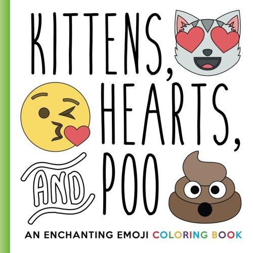 Kittens Hearts Poo Enchanting Coloring product image