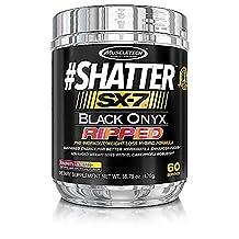 MuscleTech Shatter SX-7 Black Onyx Ripped - Raspberry Lemonade