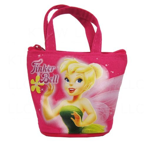 (Officially Licensed Disney Fairies Mini Handbag Style Coin Purse - Tinkerbell)