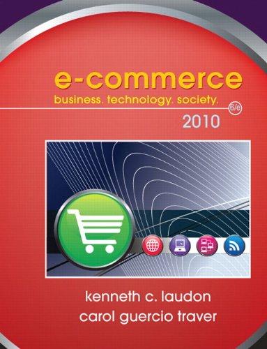 E-Commerce 2010 (6th Edition)