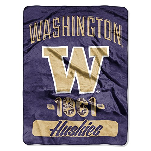 (The Northwest Company Officially Licensed NCAA Micro Raschel Throw Blanket, 46