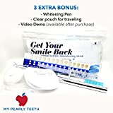 Best Over the Counter Teeth Whitening My Pearly Teeth Professional Grade Teeth Whitening Kit with Whitening Pen, 10X Treatments