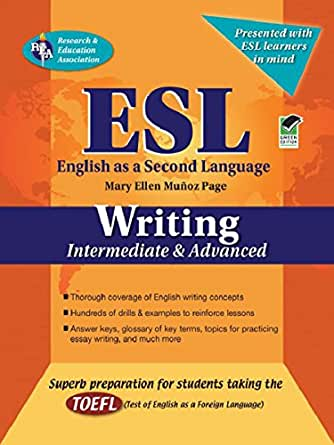 ESL Intermediate/Advanced Writing (English as a Second