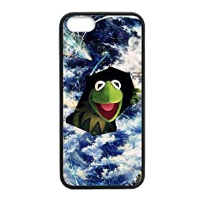 DIY Design Frog Funny-Protective TPU Cover Case for iPhone 5/5S (Laser Technology)case Perfect as Christmas gift03