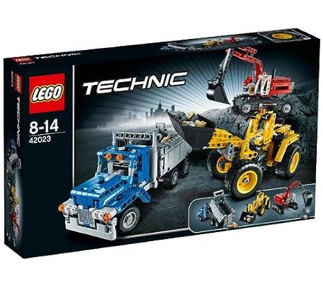 LEGO Technic - Máquinas de construcción- 42023: Amazon.es: Juguetes y juegos