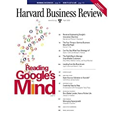 Harvard Business Review, April 2008