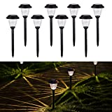 Homemory Solar Powered Garden Lights, LED Wireless Path Landscape Lights, Decor for fence, yard, gardens, flowerbed, All Weather Resistant and Waterproof