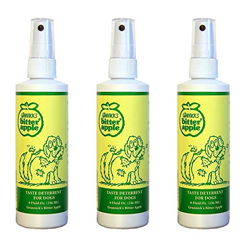 - Bitter Apple Spray for Dogs to Stop Chewing 3 Pack Total of 24 oz