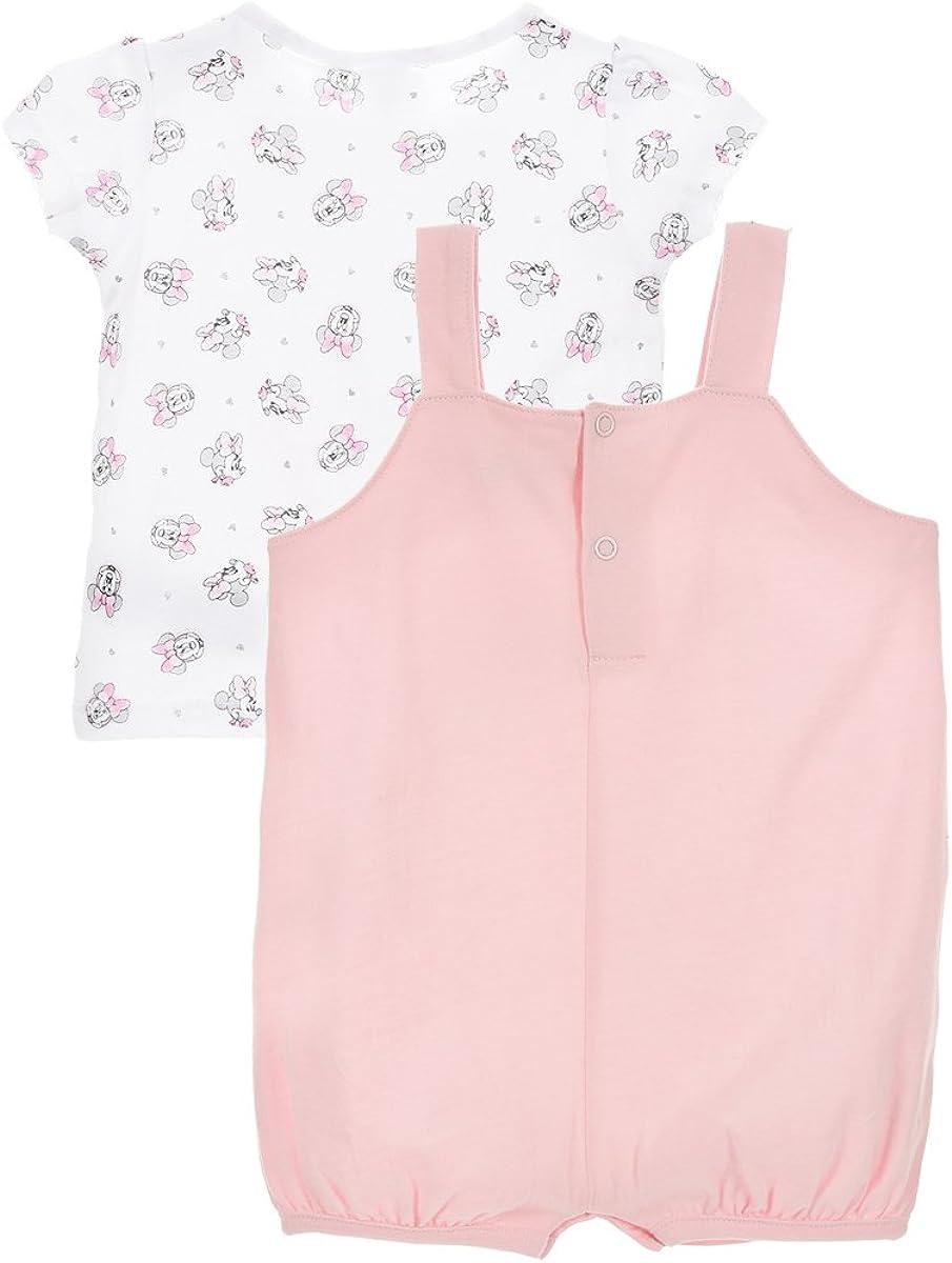 Camiseta Minnie Mouse beb/é-ni/ñas Mono