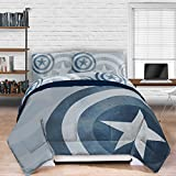 Captain America Lifestyle Shield Comforter full / queen