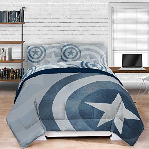 captain america comforter full - 4