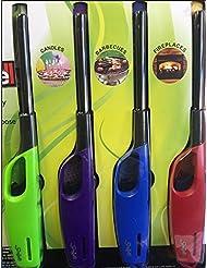Scripto AIM \'N Flame Multi-Purpose Lighters, Pack of 4