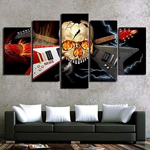 mmwin Arte de la Pared PictureModern Living Room Decor 5 Unidades ...