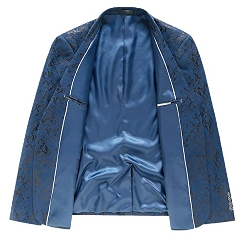blu Blazer blu Invachi Blazer Invachi Nero Nero Invachi Blazer Uomo Uomo Xqvwgg