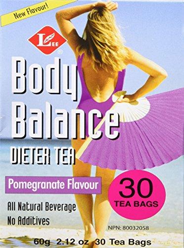 (Uncle Lee's Tea Body Balance Dieters Tea Pomegranate, 30 Tea Bags, 60g)