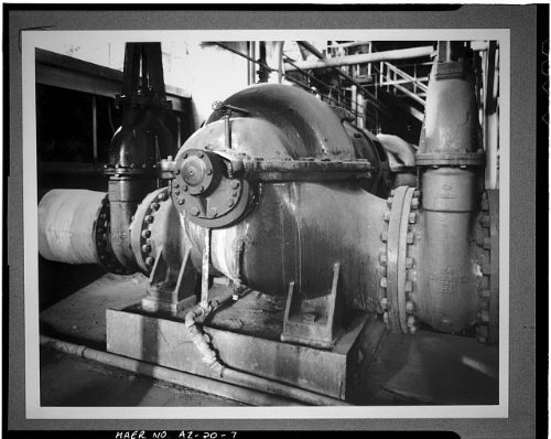 Photo: Crosscut Steam Plant,Tempe,Maricopa County,Arizona,AZ,HABS,Mill - Arizona Tempe Mills Az