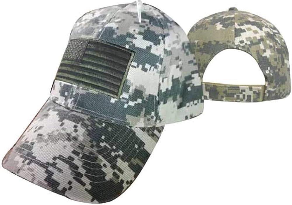 Trade Winds USA Dark Green Patch Tactical ACU Digital Camo Embroidered Cap CAP610DG TOPW