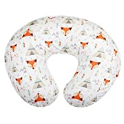 New Org Store Premium Bohemian Fox Design Nursing Pillow Cover | Infant Pillow Slipcover for Breastfeeding Moms