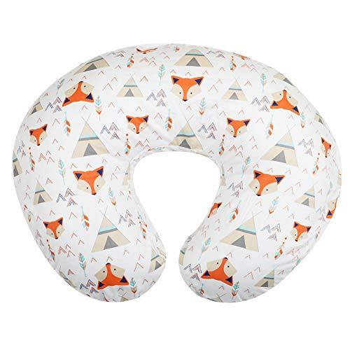 Org Store Premium Nursing Pillow Cover | Infant Pillow Slipcover for Breastfeeding Moms (Bohemian Fox Design)